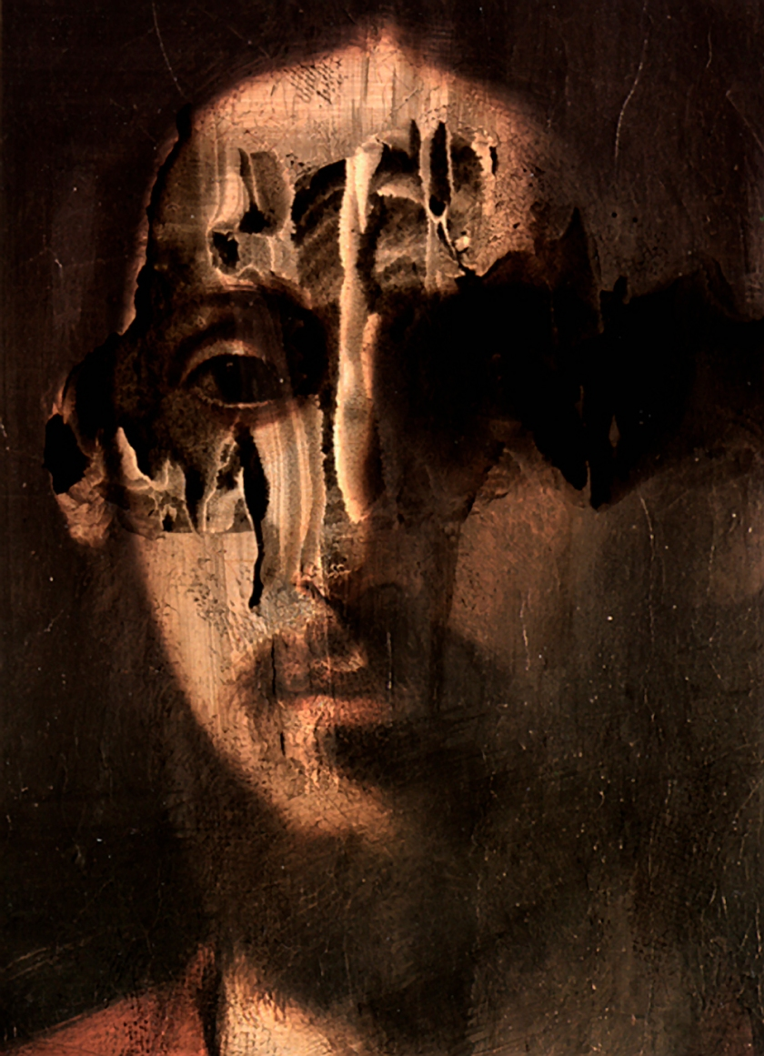 Ink Series Christ-#1enlarged